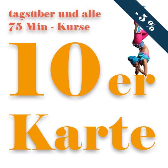 10er Karte tagsueber Tanzkurs Rabatt Prostage Berlin