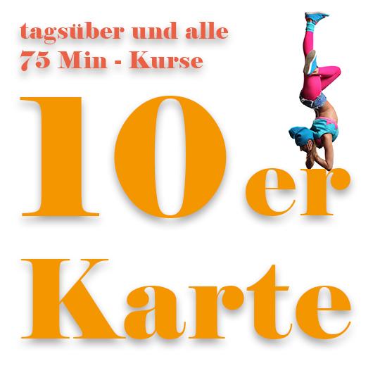 10er Karte tagsueber Tanzkurs Prostage Berlin