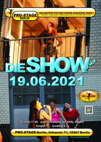 Pro Stage Berlin Show Ausbildung