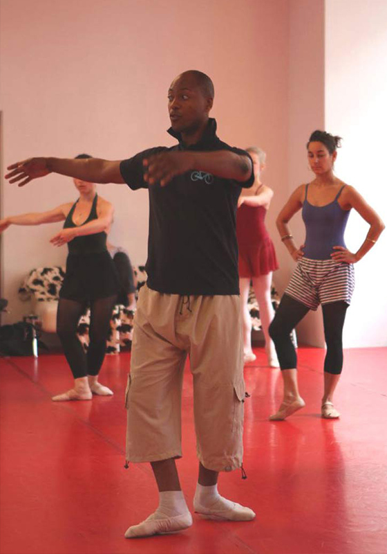 Ballett Unterricht Matthew Thomas Prostage