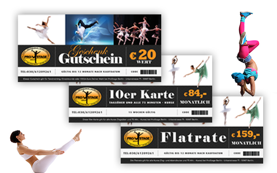 Tanzkurs Gutscheine Onlineshop